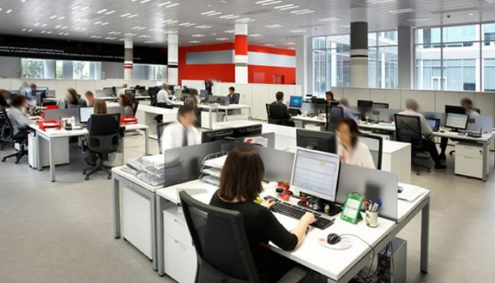 el ideal de trabajar en oficinas abiertas zenttre