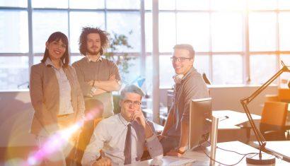 Empleados felices, el secreto para un negocio más productivo