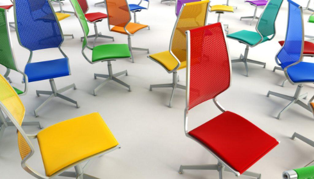 Los colores que estimulan la creatividad en la oficina