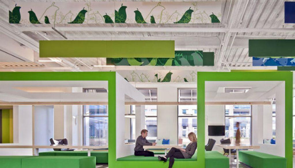El nuevo modelo de las empresas es crear oficinas divertidas para sus empleados