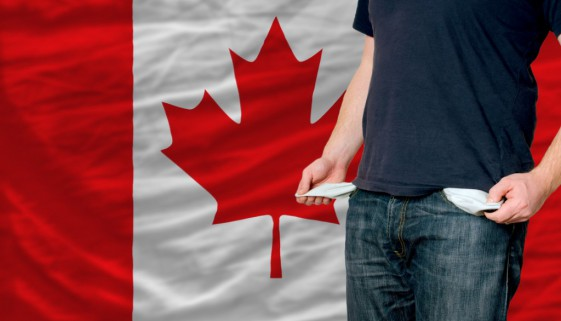 recession impact on young man and society in canada