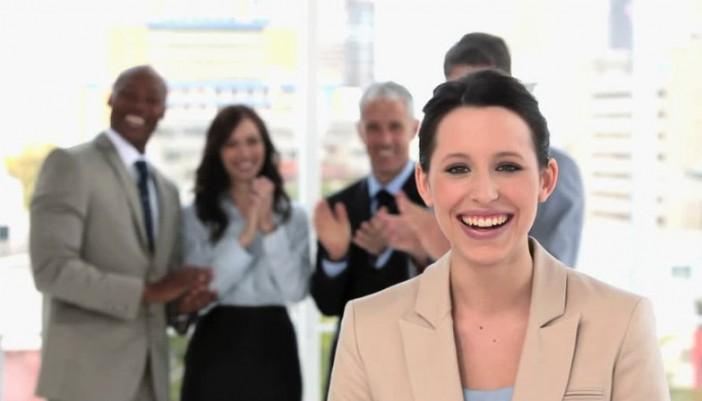 El trabajo es más agradable al reír