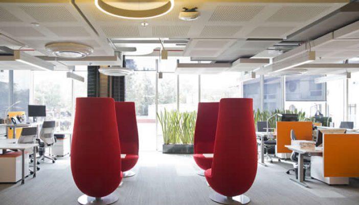 Un vistazo a las oficinas de Google México