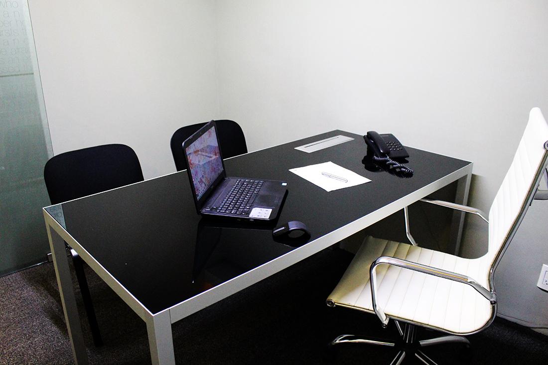 Oficinas equipadas en colonia Del Valle