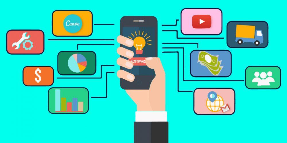 Emprendedores se suben al tren de la tecnología