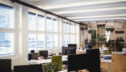 Espacios eficientes y ecológicos en las oficinas